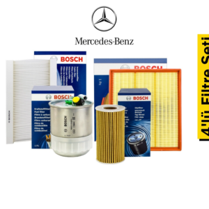 Bosch Mercedes Sprinter Euro 4 4'lü Filtre Seti
