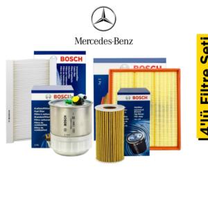 Bosch Mercedes Sprinter Euro 5 4'lü Filtre Seti
