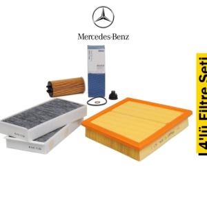 Mahle Mercedes Sprinter Euro 4 4'lü Filtre Seti