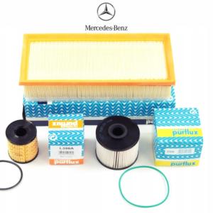 Purflux Mercedes Sprinter Euro 5 4'lü Filtre Seti