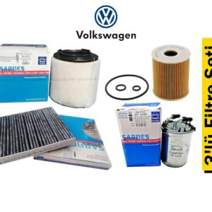 Sardes Volkswagen Jetta 1.2 TSI 2014-17 3'lü Filtre Seti