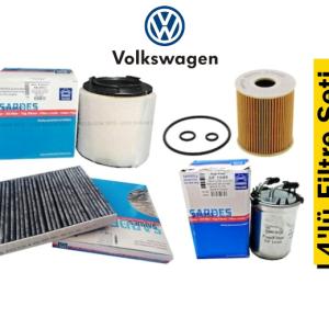 Sardes Volkswagen Polo 1.2 TDI 2010-14 4'lü Filtre Seti